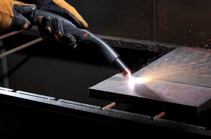 Manual plasma cutting table