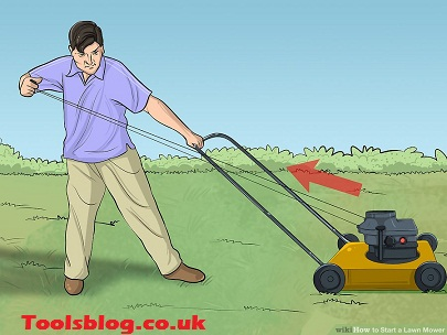 How To Start A Lawnmower