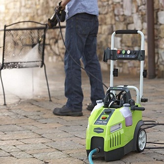 Pressure washers make your cleaning work easier