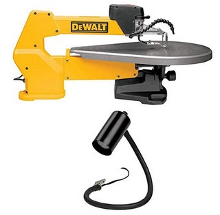 A premium scroll saw with the double parallel link arm design