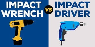 Impact Driver Vs Impact Wrench - Which one should you choose?