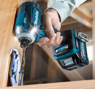 It is easier to drive screws and drill by an electric impact driver