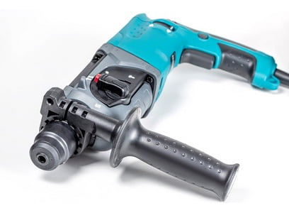 The hammer drill.