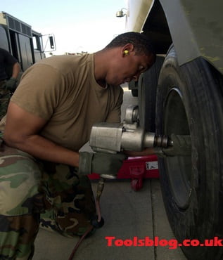 What do you use an impact wrench for?