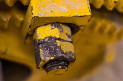 A high torque value is needed to remove rusty nuts.